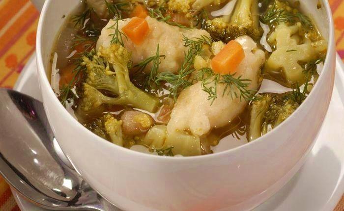 Диета номер 5 супы рецепты