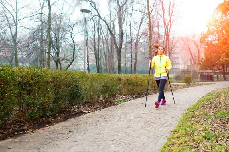Как выбрать палки для скандинавской ходьбы