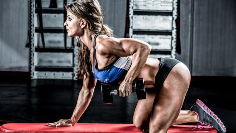 Упражнения для похудения спины и боков