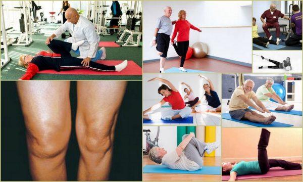 Упражнения Бубноского для колен