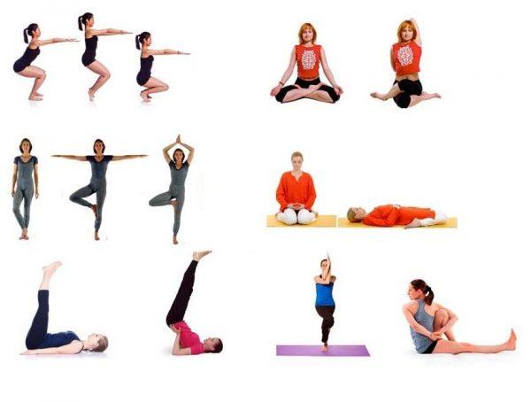 Йога для колена