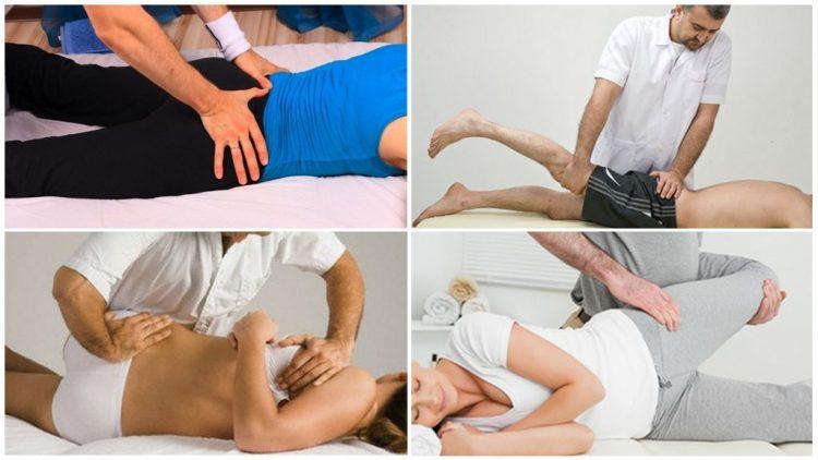 Проведение массажа при деформирующем артрозе
