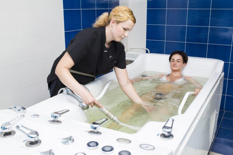 Применение радоновой ванны для лечения артроза тазобедренного сустава
