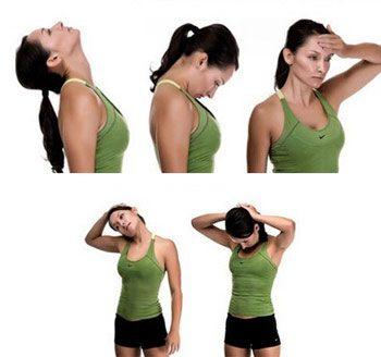Комплекс упражнений на шейно-грудной отдел