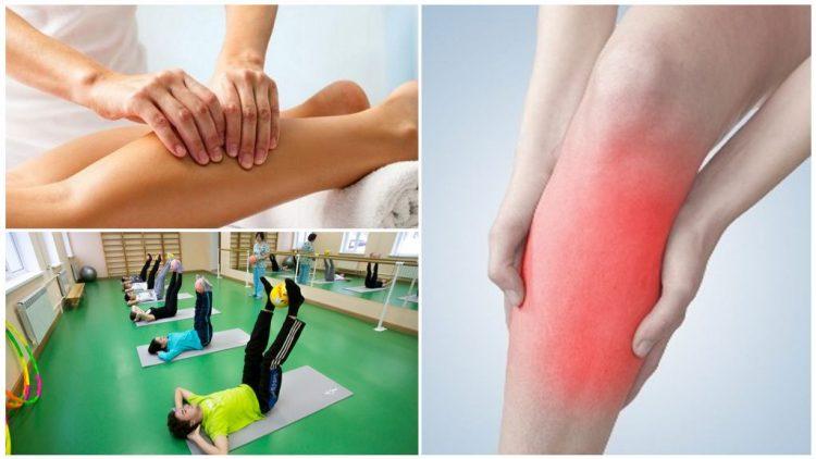 Чтобы снять болевые ощущения можно применять ЛФК и массаж