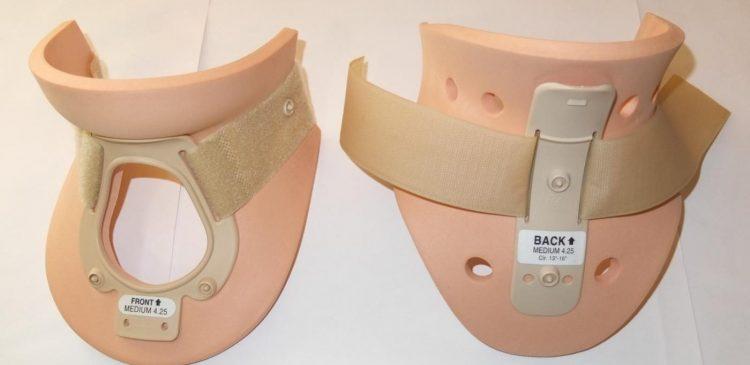 Ортопедический воротник жесткой фиксации