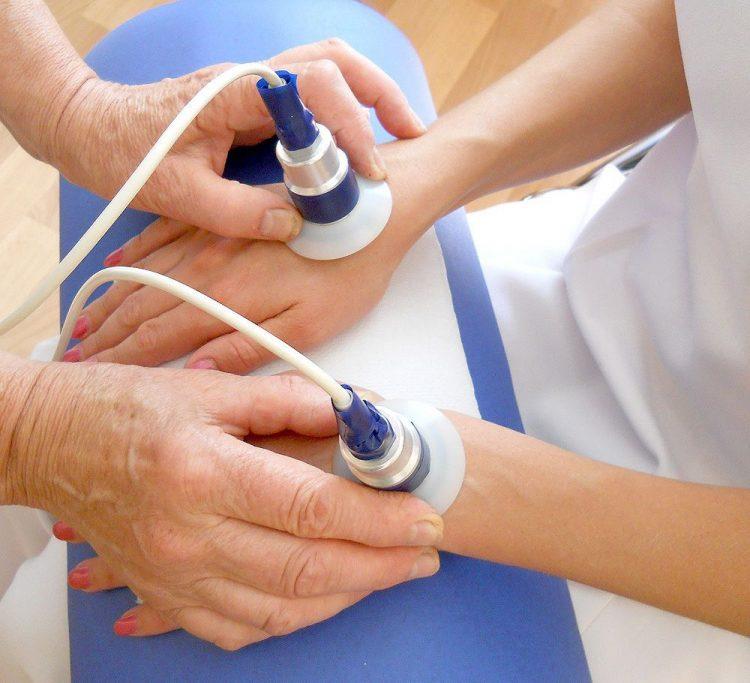 Физиотерапевтические процедуры для рук