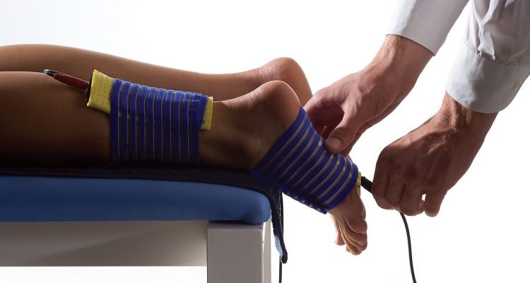 Проведение физиотерапевтической процедуры