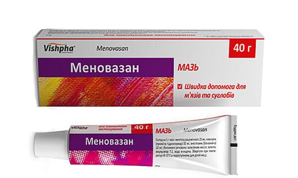 Препарат Меновазан при артрозе
