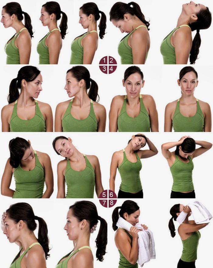 Упражнения необходимо проводить достаточно плавно