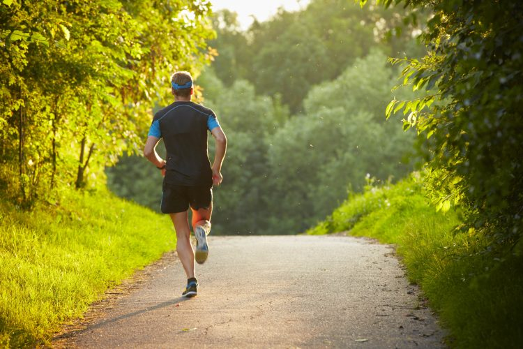 Бег - один из методов профилактики остеохондроза