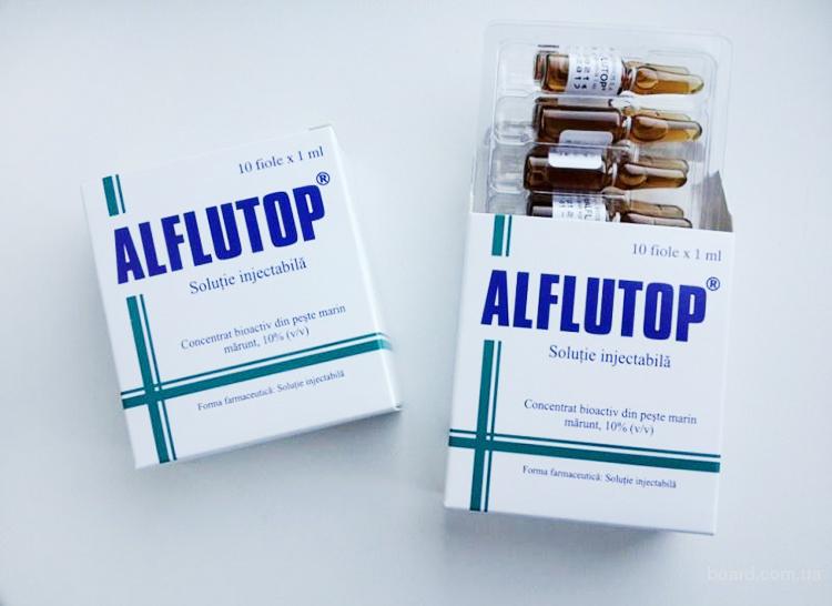 Раствор для инъекций Алфлутоп