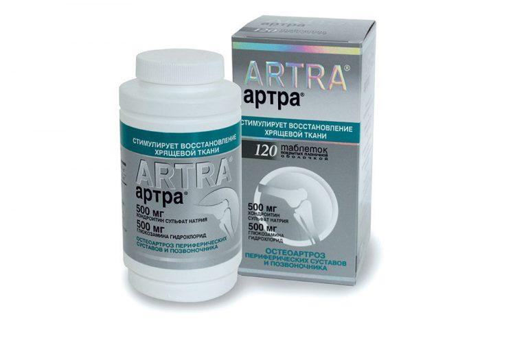 Артра в таблетках