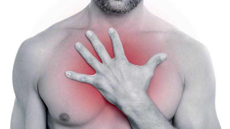 Боль в груди - основной симптом патологии