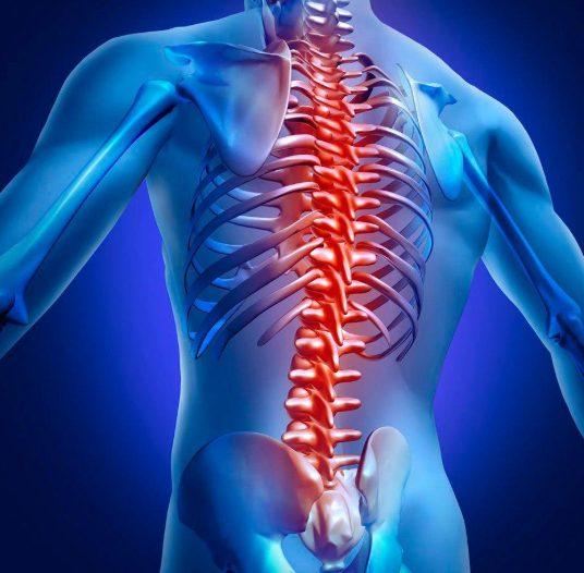 Боль вдоль позвоночного столба появляется на начальной стадии хондроза