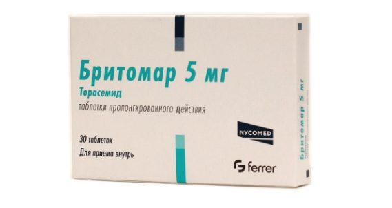 Таблетки Бритомар