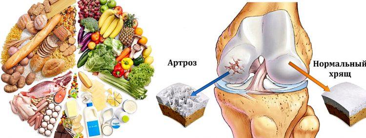 Диета при артрозе поможет облегчить состояние больного