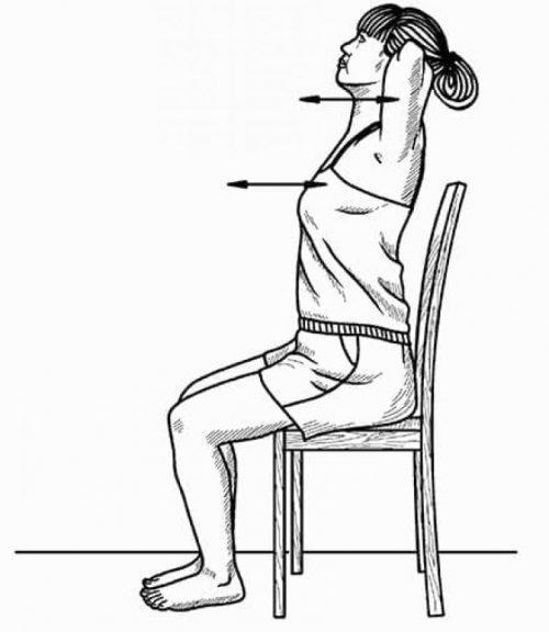 Выполнение дыхательных упражнений