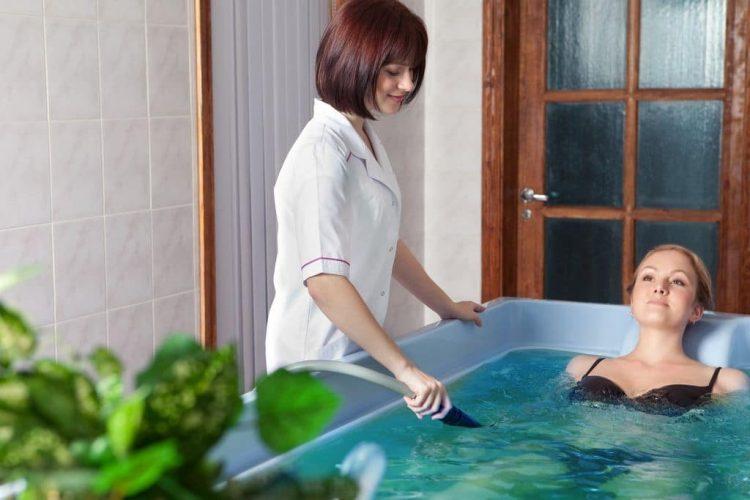 Лечебные ванны можно также устраивать в домашних условиях