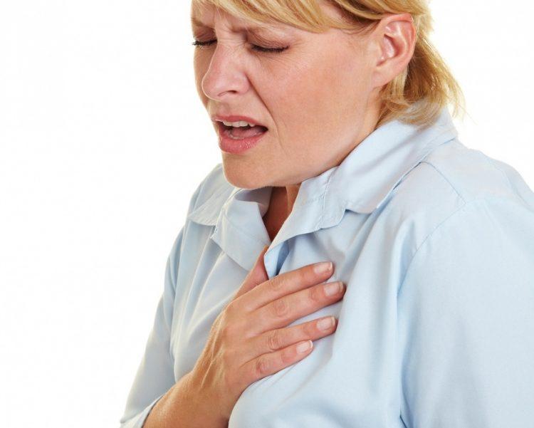 Чувство скованности грудной клетки