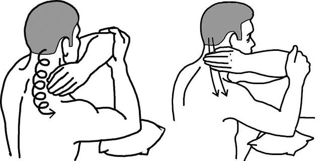 Техника выполнения самомассажа шеи