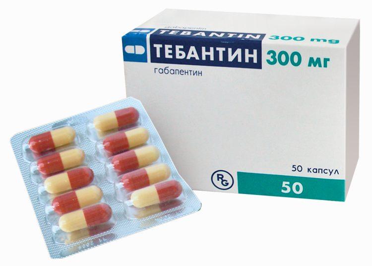 Таблетки Тебантин