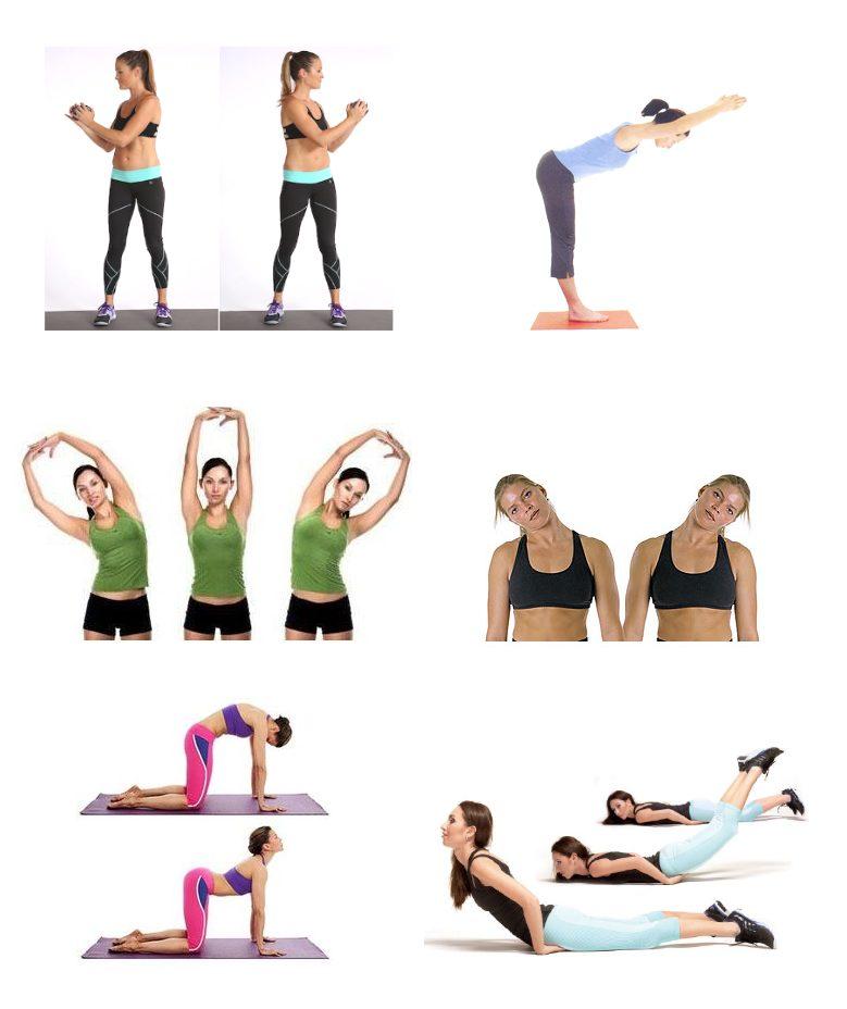 Комплекс упражнений при грудном остеохондрозе