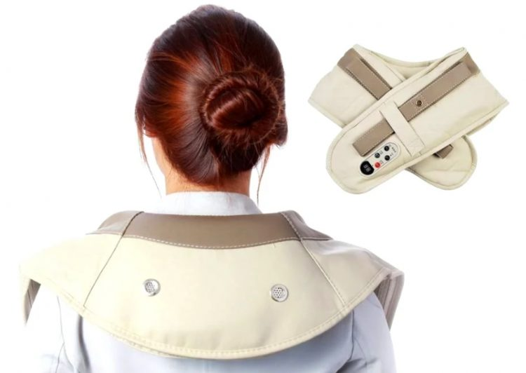 Положительный эффект оказывает использование вибромассажера для шеи