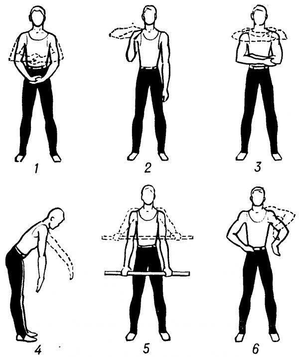 Занятия с гимнастической палкой