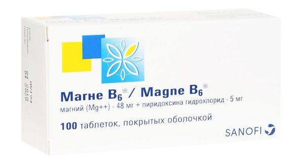 Таблетки Магне-В6
