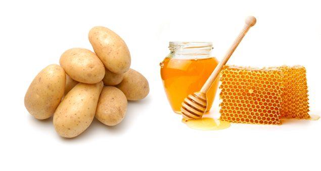 Медово-картофельный компресс окажет благотворное влияние на проблемный участок шеи