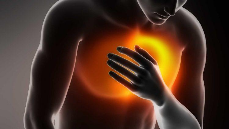 Остеохондроз может вызывать болевые ощущения за грудиной