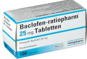 Баклофен таблетки