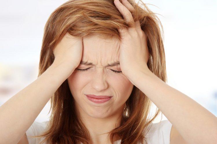 Болевой синдром чаще всего появляется в лобной или затылочной доле