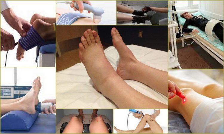 Физиотерапевтические процедуры - дополнительный метод к консервативному лечению