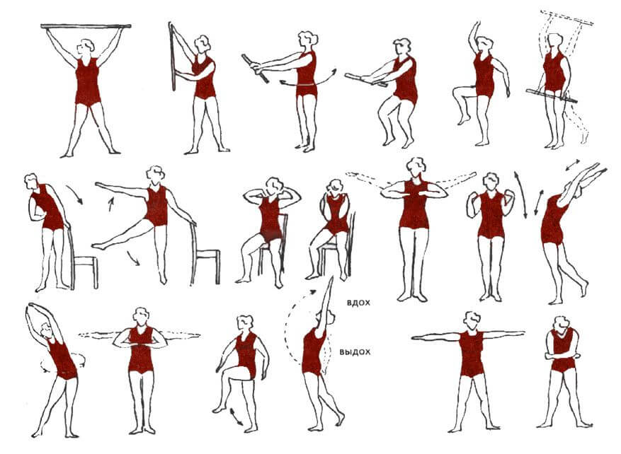 Упражнения при поражении плечевого пояса