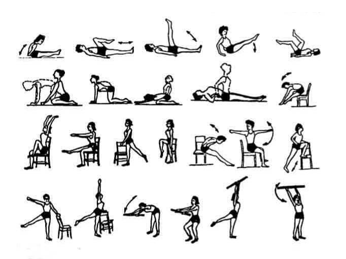 Варианты выполнения упражнений