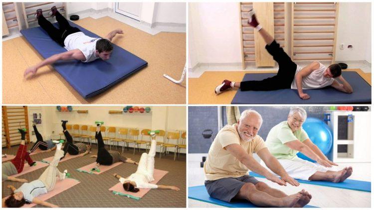 Лечебную физкультуру назначают пациентам, старше 35 лет