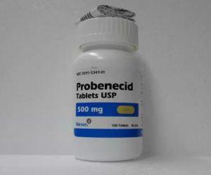 Пробенецид таблетки