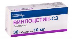 Винпоцетин таблетки