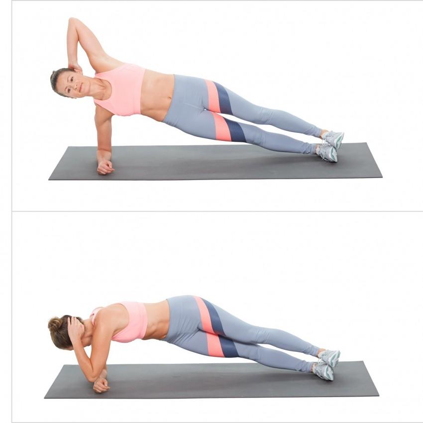 упражнения похудения боков женщинам