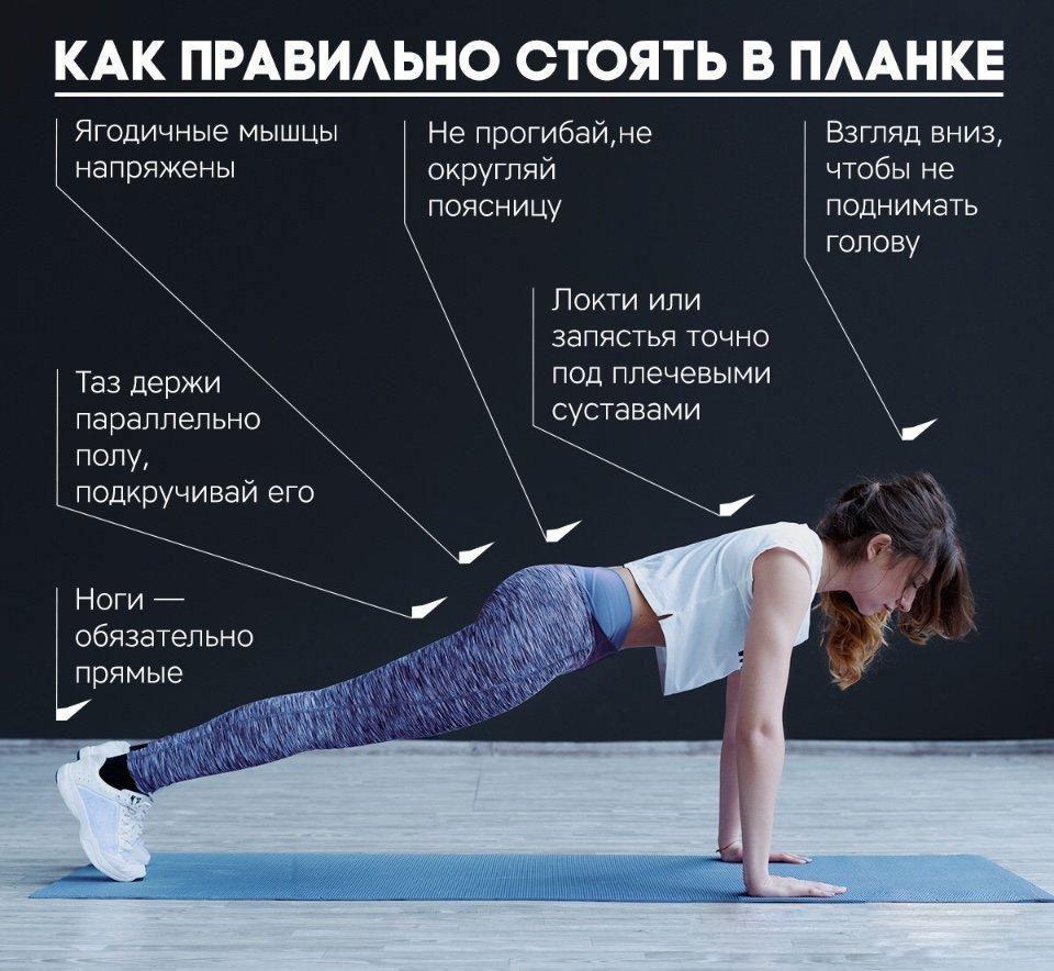 Как делать упражнение планка для похудения отзывы