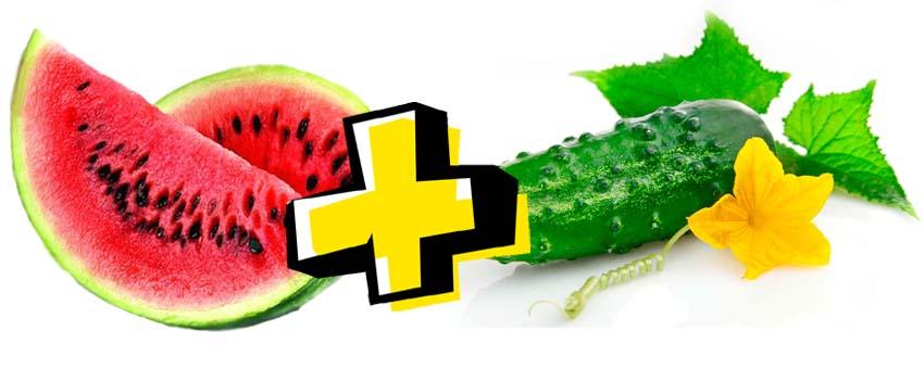 Огуречная арбузная диета