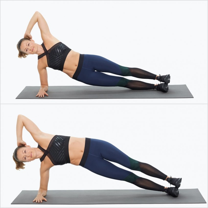 упражнения для похудения живота в тренажерном зале