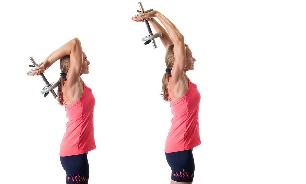 Чтобы руки похудели трицепсы
