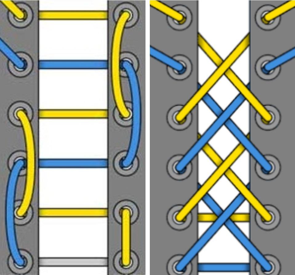 лайвли разные способы завязывания шнурков фото схемы разочарованию многочисленных
